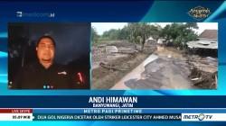 Jalur Alternatif Banyuwangi-Jember Terendam Lumpur dan Pasir