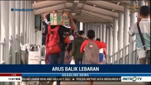 Sudah 72 Persen Pemudik Balik ke Pulau Jawa Lewat Pelabuhan Merak