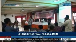 Debat Publik Terakhir Pilkada Jatim Digelar Malam Ini
