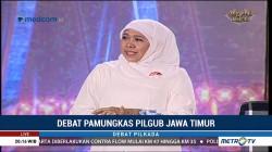 Debat Pamungkas Pilgub Jawa Timur (2)