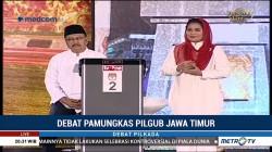 Debat Pamungkas Pilgub Jawa Timur (3)