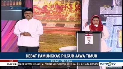 Debat Pamungkas Pilgub Jawa Timur (5)