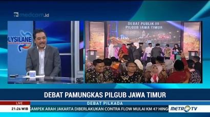 Debat Pamungkas Pilgub Jawa Timur (6)
