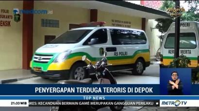 Dua Jenazah Terduga Teroris Depok Diautopsi di RS Polri