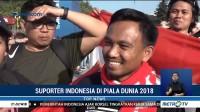 Suporter Indonesia di Piala Dunia 2018