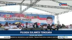 Hugua Gelar Kampanye Akbar Terakhir di Kota Baubau