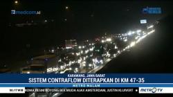 Lawan Arus Diterapkan di Tol Cikampek KM 47-35 Arah Jakarta