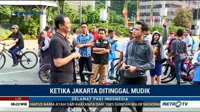 Ketika Jakarta Ditinggal Mudik (1)