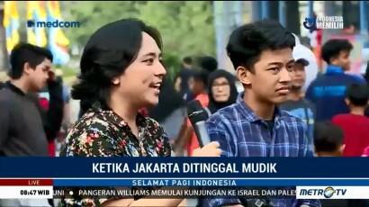 Ketika Jakarta Ditinggal Mudik (2)