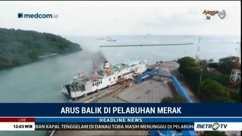 82% Pemudik dari Sumatera Sudah Tiba Lewat Pelabuhan Merak