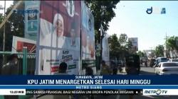 Petugas Mulai Bersihkan Alat Peraga Kampanye di Berbagai Daerah