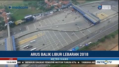 Gerbang Tol Cikarang Utama Lengang