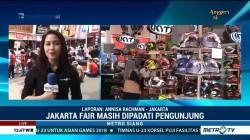 Jakarta Fair Masih Dipadati Pengunjung