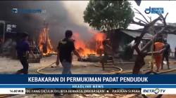 Permukiman Padat Penduduk di Kedoya Terbakar