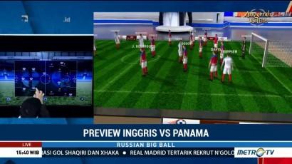 Perkiraan Formasi Inggris vs Panama