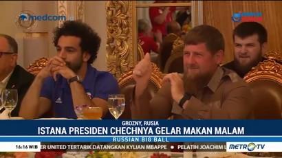 Mo Salah Dianugerahi Gelar Warga Kehormatan Chechnya