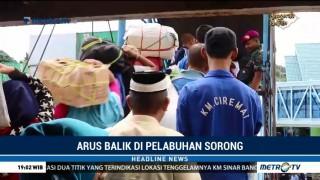1500 Penumpang Tiba di Pelabuhan Sorong