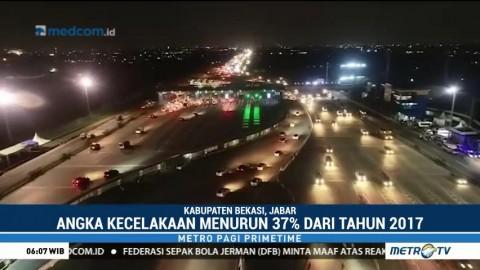 Angka Kecelakaan Selama Arus Mudik 2018 Turun 37%