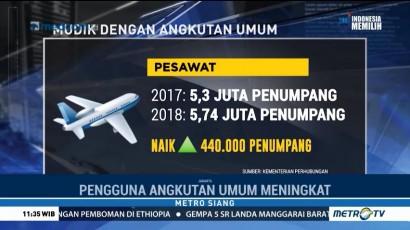 Tren Angkutan Umum di Arus Mudik 2018