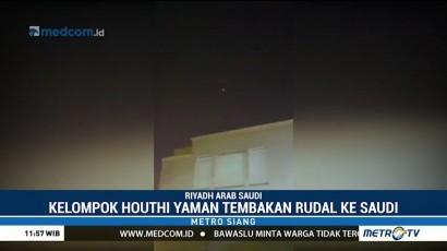 Arab Saudi Cegat Rudal Houthi ke Riyadh