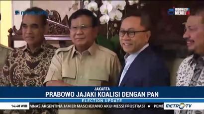 Prabowo Temui Zulkifli Hasan Bahas Koalisi