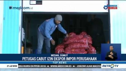 Kemendag Sita 670 Ton Bawang di Medan