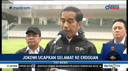 Jokowi Ucapkan Selamat ke Erdogan