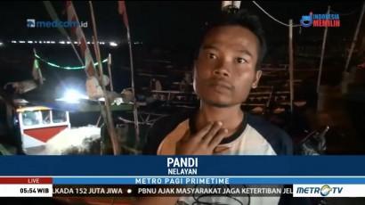 Gunung Anak Krakatau Erupsi, Nelayan Tak Berani Melaut