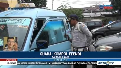 Polisi Masih Kejar Dua Pelaku Penodongan di Angkot
