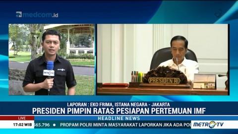 Jokowi Pimpin Ratas Persiapan Pertemuan IMF di Bali
