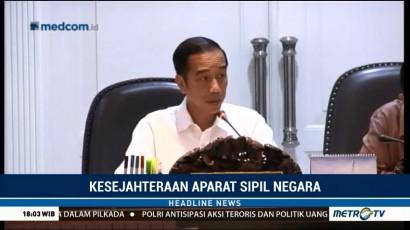 Jokowi Minta Kesejahteraan ASN, TNI & Polri Ditingkatkan
