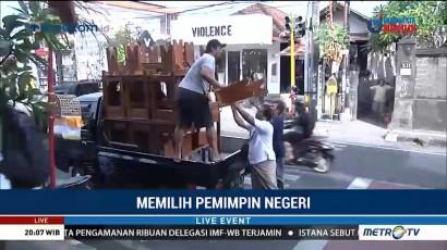 Distribusi Logistik Pilkada Bali Ditargetkan Rampung Malam Ini