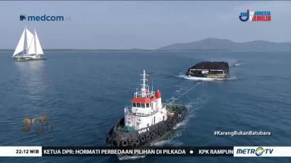 Selamatkan Terumbu Karang dari Kapal Tongkang (1)