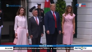 Trump Meets Jordan's King Abdullah