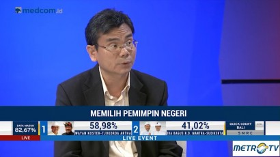 SMRC: Wayan Koster Pemenang Pilkada Bali