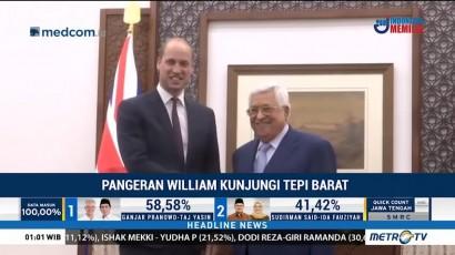 Kunjungi Tepi Barat, Pangeran William Bertemu Mahmoud Abbas