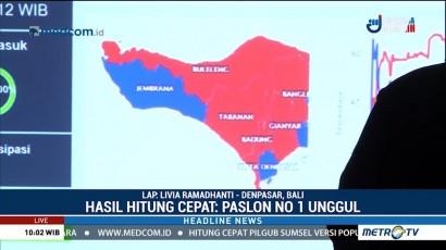Koster-Ace Unggul di Lima Kabupaten