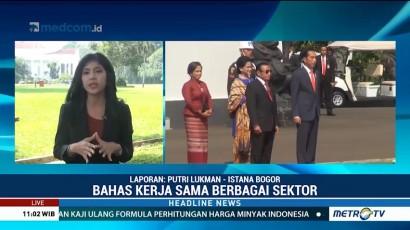 Jokowi Terima Kunjungan Presiden Timor Leste