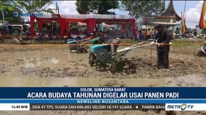 Festival Budaya Lomba Bajak Sawah