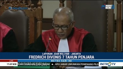 Fredrich Yunadi Divonis 7 Tahun Penjara