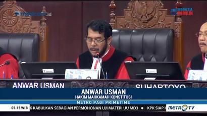 MK Batalkan Pasal Pemanggilan Paksa dan Antikritik dalam UU MD3