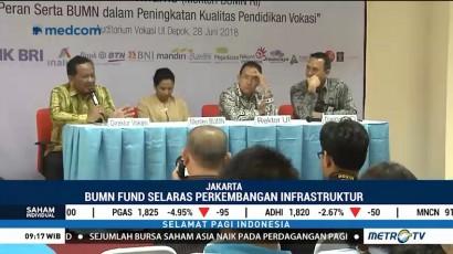 Dorong Proyek Infrastruktur, Pemerintah Bentuk BUMN Fund