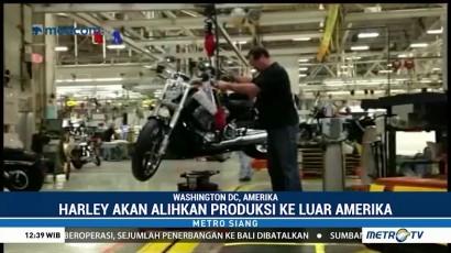 Nasib Produksi Harley-Davidson di AS