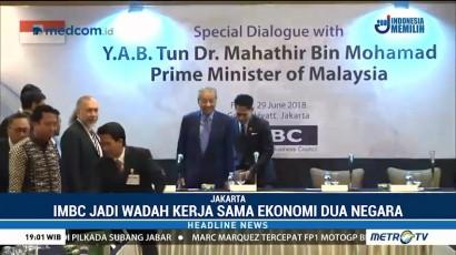 Mahathir Mohamad Hadiri Forum IMBC di Jakarta