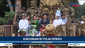 Kunjungan Jokowi ke Pulau Dewata