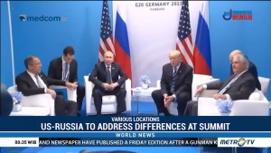US-Russia to Address Differences at Summit