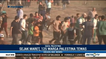 Seorang Anak Palestina Tewas Tertembak