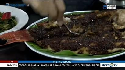Ikan Bakar Saus Parape Khas Makassar