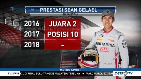 Catatan Impresif Sean Gelael di Austria