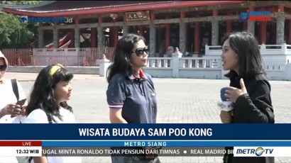 Wisata Budaya di Kelenteng Sam Poo Kong
